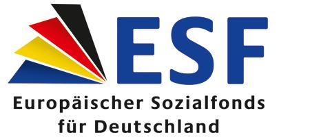 Logo des Europäischen Sozialfonds für Deutschland