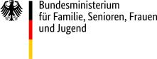 Logo des Bundesministeriums für Familie, Senioren Frauen und Jugend