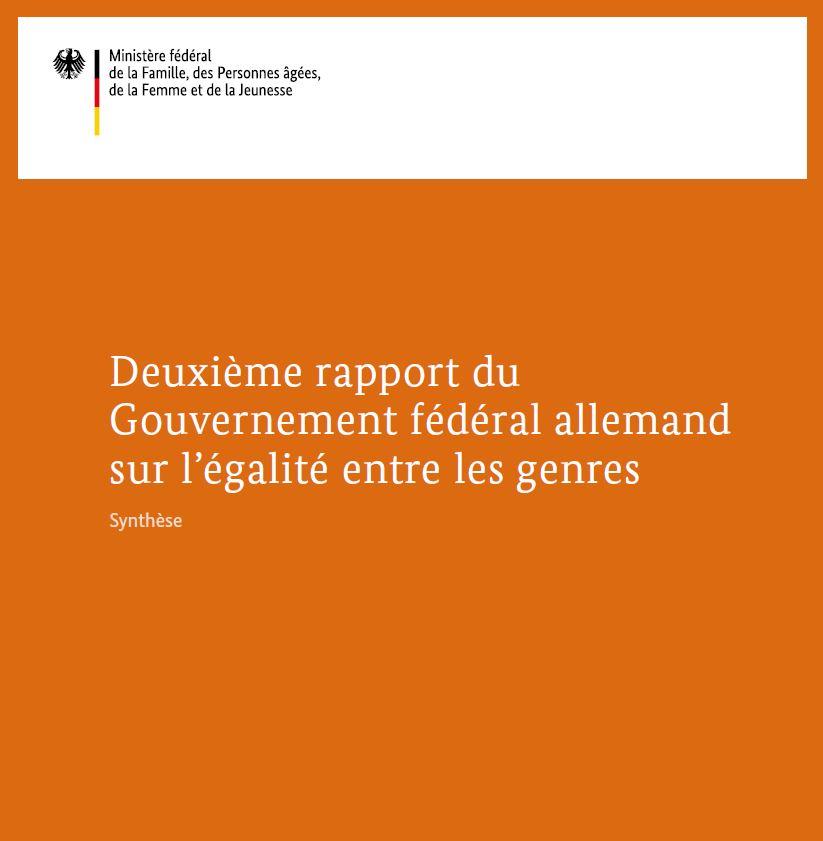 Bmfsfj Zweiter Gleichstellungsbericht Der Bundesregierung Eine