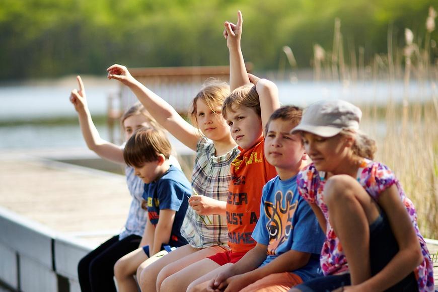Kinder im Familienferienpark